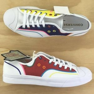 Converse Jack Purcell Low CNY White Skating Shoes